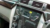 Mahindra KUV100 centre console controls spied