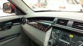 Mahindra KUV100 dashboard trims spied