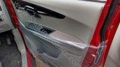 Mahindra KUV100 front inside door panel spied