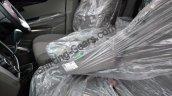 Mahindra KUV100 front row armrest spied