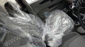 Mahindra KUV100 front row seats spied