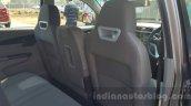 Mahindra KUV100 front seat back