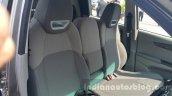 Mahindra KUV100 front seat