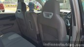 Mahindra KUV100 front seats from rear first drive review