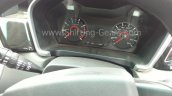 Mahindra KUV100 instrument cluster with MID spied