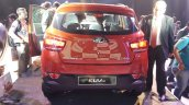 Mahindra KUV100 rear end live image