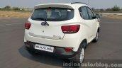 Mahindra KUV100 rear quarter first drive review