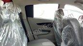 Mahindra KUV100 rear seats spied