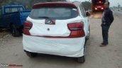 Mahindra KUV100 rear spied