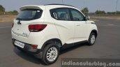 Mahindra KUV100 rear three quarter first drive review