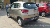 Mahindra KUV100 rear three quarter