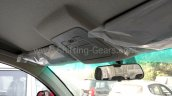 Mahindra KUV100 roof console spied