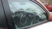 Mahindra KUV100 steering spied