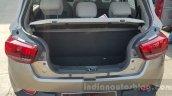 Mahindra KUV100 trunk