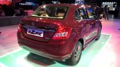 Maruti Swift Dzire Auto Gear Shift rear three quarters at Auto Expo 2016