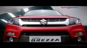 Maruti Vitara Brezza front nearly revealed