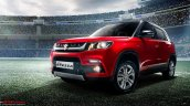 Maruti Vitara Brezza red leaked picture