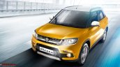 Maruti Vitara Brezza yellow leaked picture