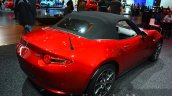 Mazda MX-5 rear three quarters at 2015 Frankfurt Motor Show