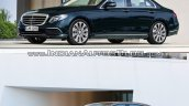 Mercedes E Class (W213) vs Mercedes E Class (W212) front three quarter low Old vs New