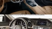 Mercedes E Class (W213) vs Mercedes E Class (W212) interior (1) Old vs New