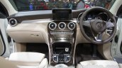 Mercedes GLC dashboard at Auto Expo 2016