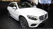 Mercedes GLC front three quarters at Auto Expo 2016