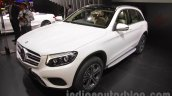 Mercedes GLC front three quarters view at Auto Expo 2016