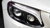Mercedes GLC headlamp at Auto Expo 2016