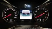Mercedes GLC instrument cluster at Auto Expo 2016