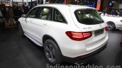 Mercedes GLC rear three quarters left at Auto Expo 2016