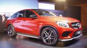 Mercedes GLE 450 AMG Coupe front three quarter launched in India