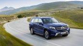 Mercedes GLS front three quarter official image