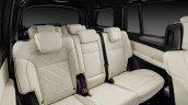 Mercedes GLS rear seats official image