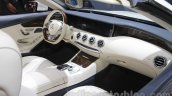 Mercedes S-Class Cabriolet interior at Auto Expo 2016