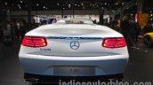 Mercedes S-Class Cabriolet rear at Auto Expo 2016