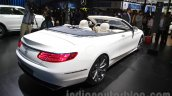 Mercedes S-Class Cabriolet rear three quarters right at Auto Expo 2016