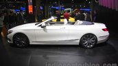 Mercedes S-Class Cabriolet side at Auto Expo 2016