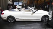 Mercedes S-Class Cabriolet side profile at Auto Expo 2016