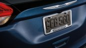 Mopar accessories number plate enclosure for Chrysler Pacifica revealed