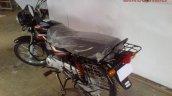 New Bajaj CT100 B seat spied