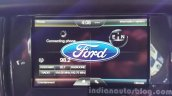 New Ford Endeavour Ford SYNC menu In Images