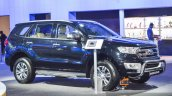 New Ford Endeavour bull bar at Auto Expo 2016