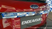 New Ford Endeavour chrom plaque In Images