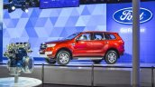 New Ford Endeavour front quarter at Auto Expo 2016