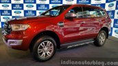 New Ford Endeavour front three quarter (1) In Images