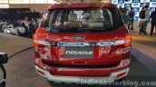 New Ford Endeavour rear In Images