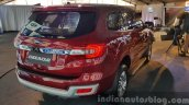New Ford Endeavour rear quarter In Images