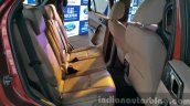 New Ford Endeavour rear seat In Images