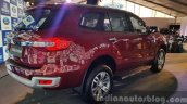 New Ford Endeavour rear three quarter In Images